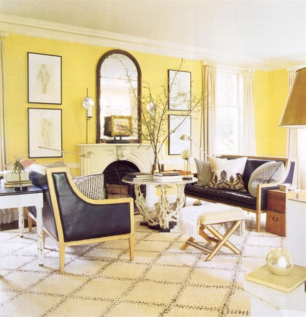 Living Rooms Fancy Lacy Image. Living Room Decor Yellow Walls. Modern Home  Design