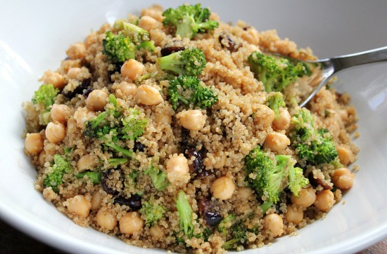 Recipe-Quinoa-Salad-with-Broccoli-Garbanzo-Beans-and-Cranberries